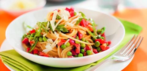 Schlank Rezepte: Spaghetti Primavera