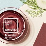 weiter zu - Farbe des Jahres - Marsala