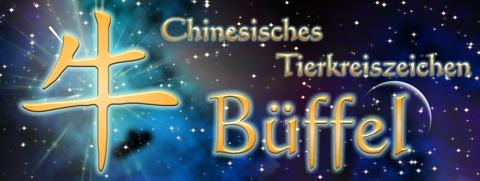 Chinesische Sternzeichen: Chinesisches Tierkreiszeichen Büffel
