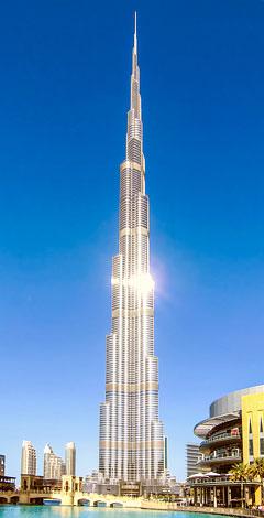 Regionen und Sehenswürdigkeiten in Dubai
