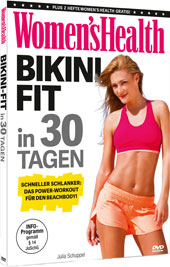 Women's Health: BIKINI-FIT in 30 Tagen