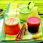 weiter zu - Rezepte für Gemüsesäfte