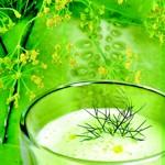 weiter zu Rohkost Rezepte - Kalte Gurkensuppe