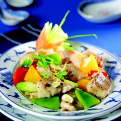 Chinesische Rezepte: Gebratene Fischwürfel