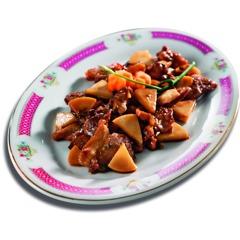 Chinesische Rezepte: Bambussprossen mit Schweinefleisch