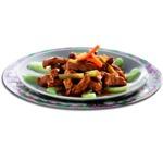 zu chinesische Rezepte - Sellerie und Schweinefleisch