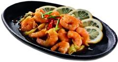 Chinesische Rezepte: Süßwassergarnelen