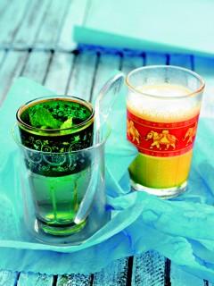 Rezepte mit grünem Tee zum Eistee selber machen