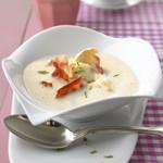 zu einfache Kochrezepte - Blumenkohl-Cremesuppe