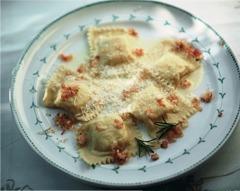 Italienische Rezepte: Tortelli mit Kartoffelfüllung