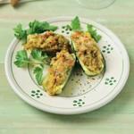 weiter zu italienische Rezepte - Gefüllt Zucchini