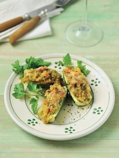 Italienische Rezepte: Gefüllte Zucchini