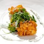 zu italienische Rezepte - Seeteufelbackerl