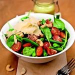 weiter zu leckere Salate - Cosmic Spinat Salat