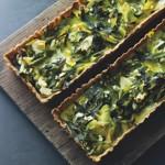 weiter zu Rezepte vegetarisch - Lauch-Feta-Tarte