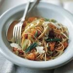 zu Rezepte vegetarisch - Spagetti mit Hokkaido Kürbis