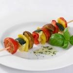 weiter zu Rohkost Rezepte - Gegrillter Gemüse-Spieß
