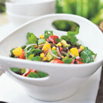 weiter zu leckere Salate - Avocado Bohnensalat