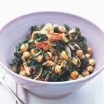 weiter zu leckere Salate - Kichererbsen-Mangold-Salat