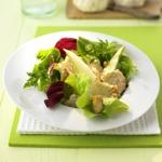 zu leckere Salate - Sommersalat mit Pilzen und Walnüssen