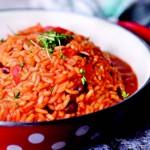 weiter zu vegane Rezepte - Soja-Reis-Pfanne