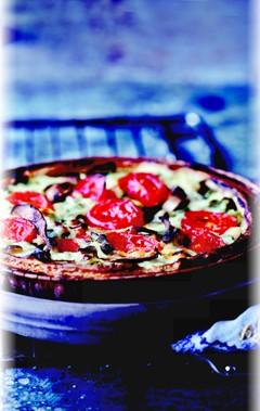 Vegane Rezepte: Steinpilz-Spinat-Quiche