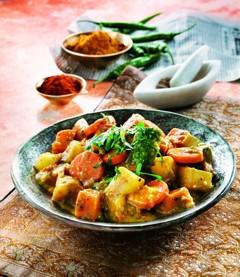 Rezepte vegetarisch: Würziges Gemüsecurry
