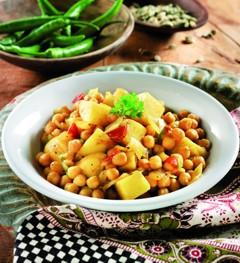 Rezepte vegetarisch: Kichererbsencurry