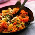 zu Rezepte vegetarisch - Limabohnen Kürbiseintopf