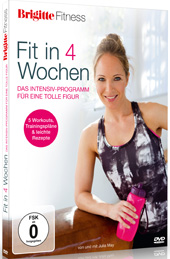 Brigitte Fitness: Fit in 4 Wochen