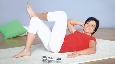 Bauchmuskeln trainieren - Übung 1