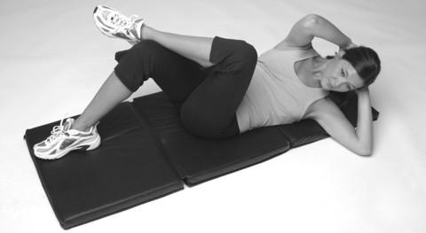 Schräge seitliche Bauchmuskeln trainieren - diese Übung hilft