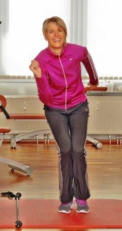 Skigymnastik Übungen - Anleitung für zu Hause