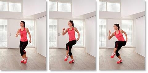 Cardio Training Übungen - Jogging: Stufe 1 bis 3