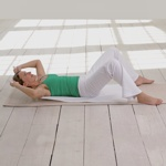 weiter zur Fitness-Übung - Bauch und Taille