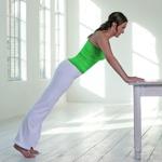 weiter zur Fitness-Übung - Brust und Dekolletee