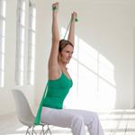 weiter zur Fitness-Übung - straffe Oberarme