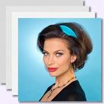 zur Anleitung - Sophia Loren Frisur - Style 2