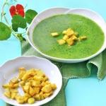 weiter zu basische Rezepte - Kohlrabi-Petersilien-Suppe