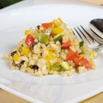 weiter zu gesund Kochen - Gersten Risotto