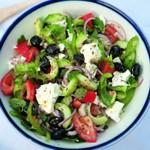 weiter zu gesund Kochen - Griechischer Salat