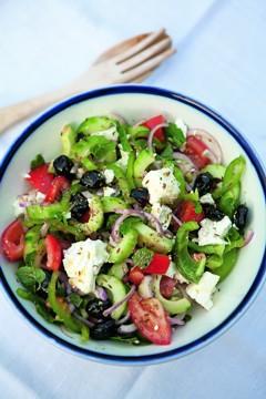 Gesund Kochen: Griechischer Salat