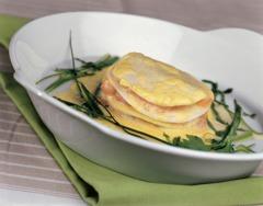 Gesund Kochen: Lachs-Kohlrabi-Lasagne