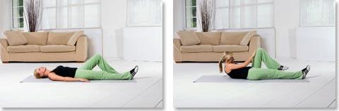 Übungen gegen Rückenbeschwerden Nr. 2