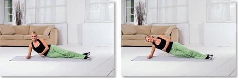 Übungen gegen Rückenbeschwerden Nr. 3