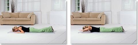Übungen gegen Rückenschmerzen Nr. 9