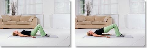 Übungen gegen Rückenschmerzen Nr. 10