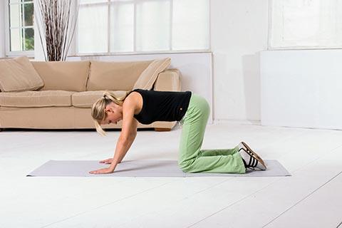 Übungen für Rückenschmerzen 7a