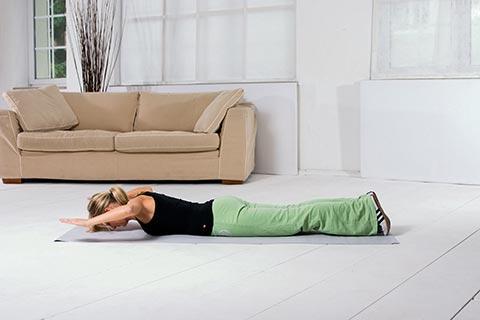 Übungen für Rückenschmerzen 9b