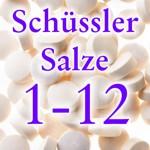 weiter zu - Liste Schüssler Salze